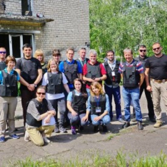 Caritas at the frontline in Ukraine
