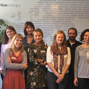 Caritas Poland study visit to Brussels