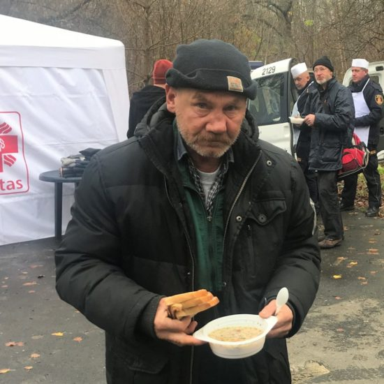 Providing support to the homeless