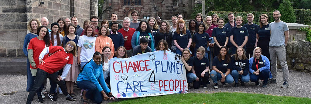 Youth cares for our common home