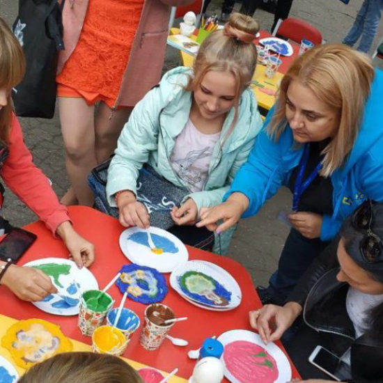 Sharing expertise on work with kids in Ukraine