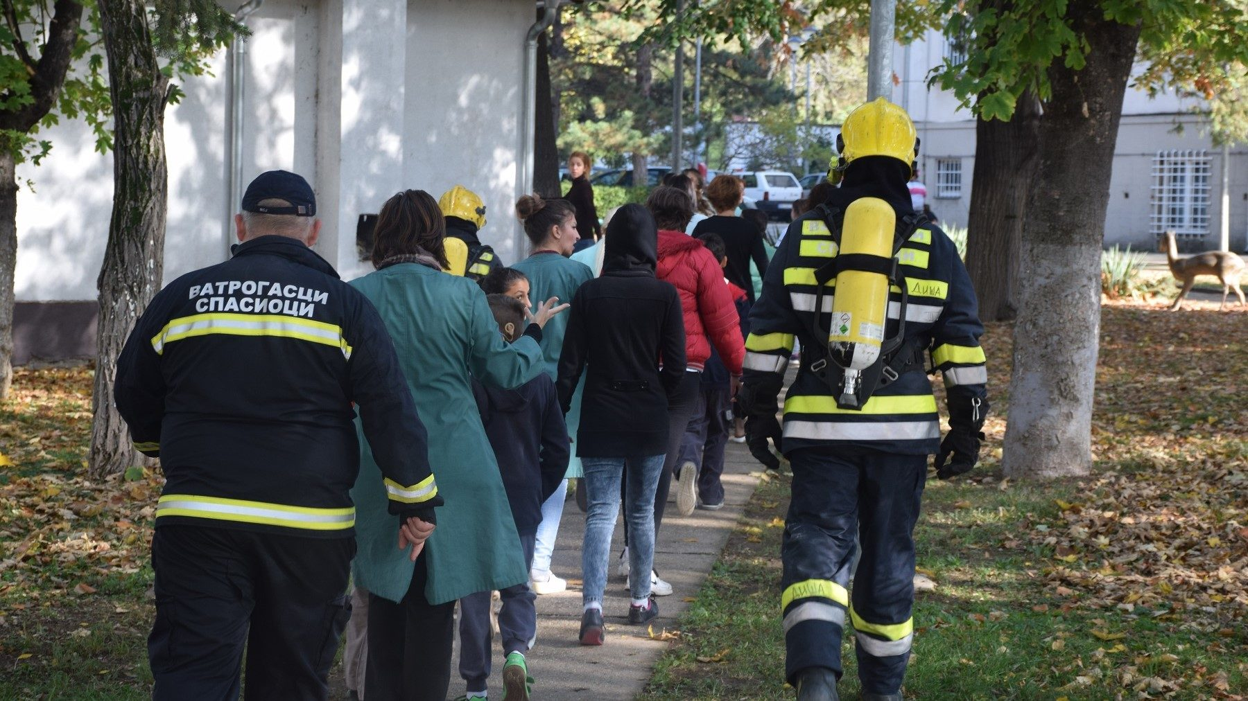 Children in Serbia learn disaster risk reduction