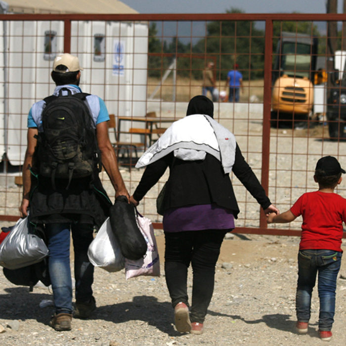 Caritas at the border