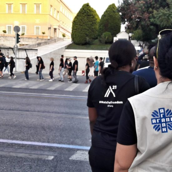 Caritas Hellas walked for Freedom