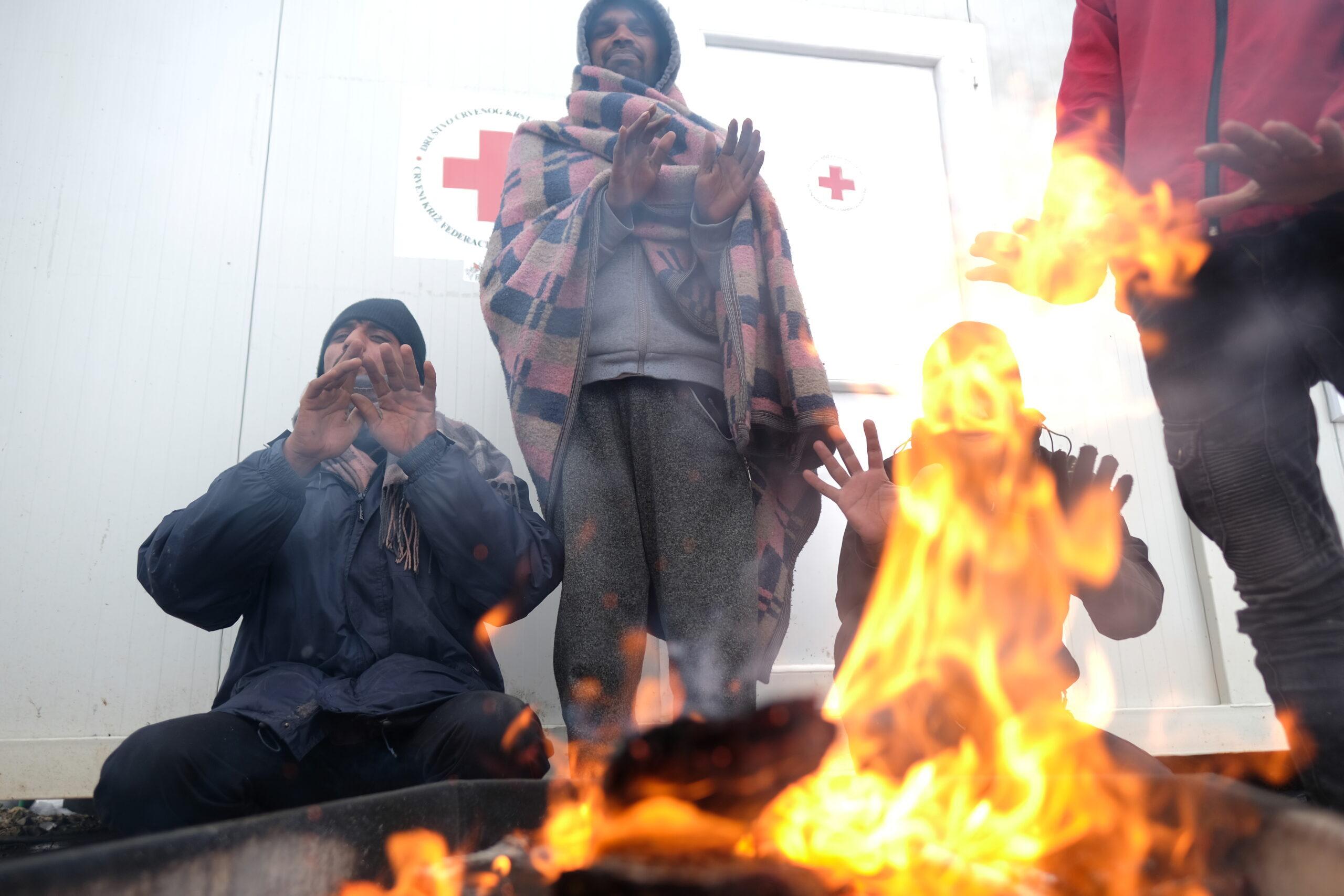 Migrants in Bosnia