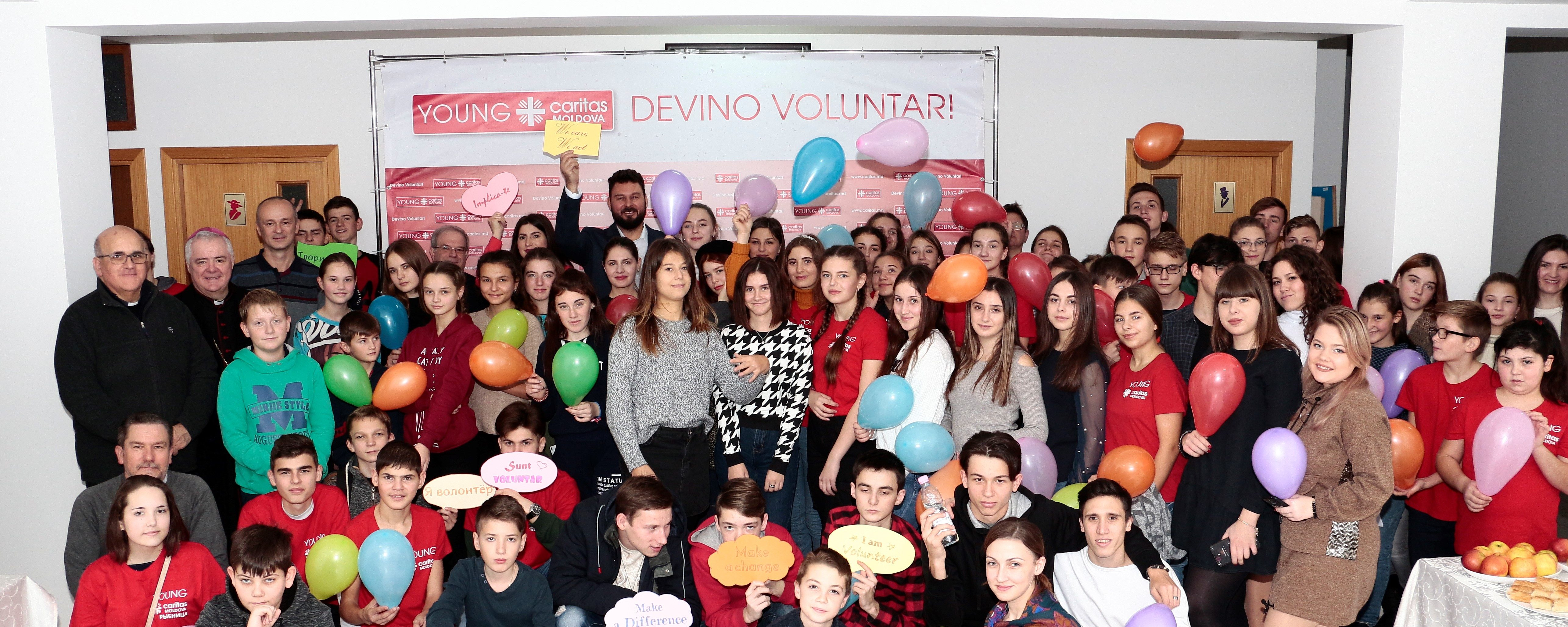 Caritas Moldova celebrates volunteers