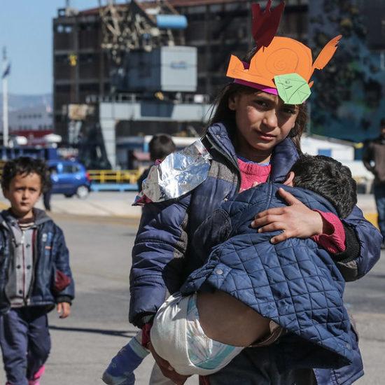 Call to relocate unaccompanied children