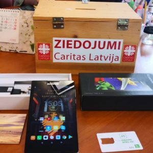 Caritas Latvia, free Internet and online solutions