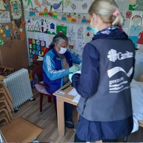Caritas and communities in Serbia fight COVID-19