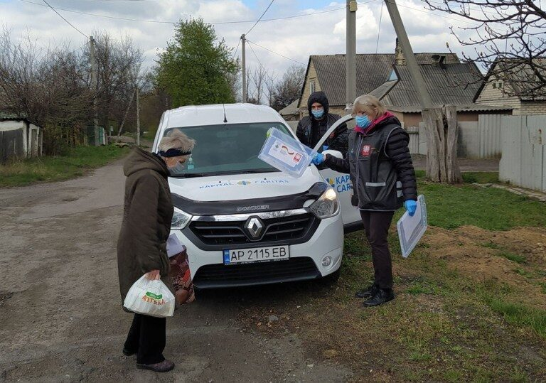 Caritas Ukraine in action during COVID-19