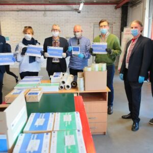Community Health Boxes to fight COVID-19