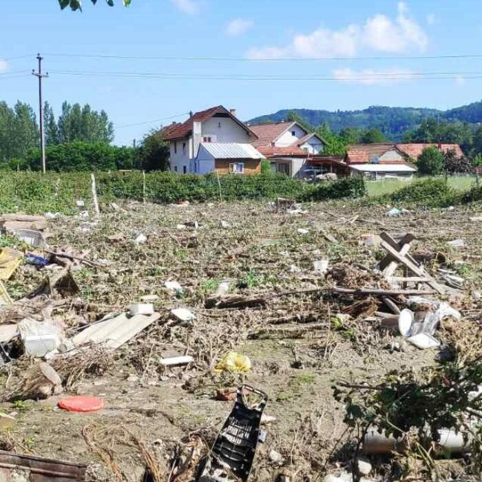 Devastating floods hit Serbia