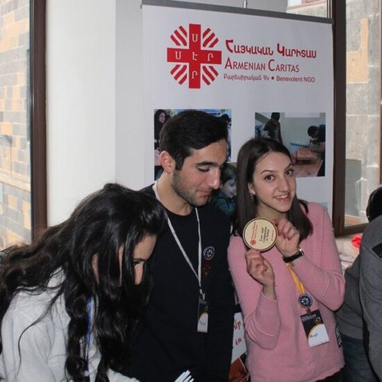 Volunteering at Armenian Caritas