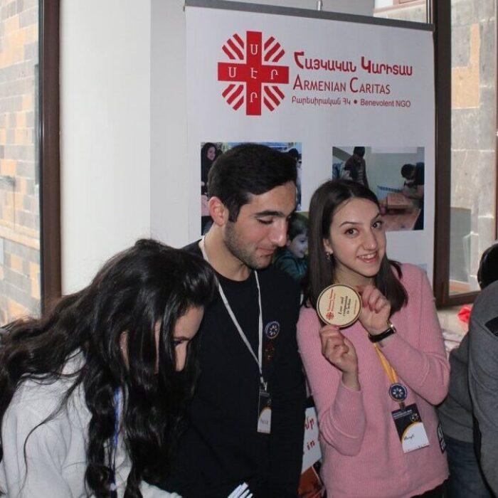 Volunteering at Armenian Caritas