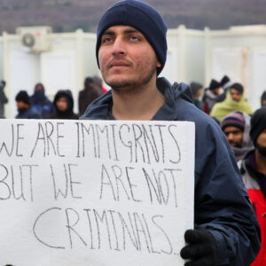 Europe's forgotten migrants in Bosnia