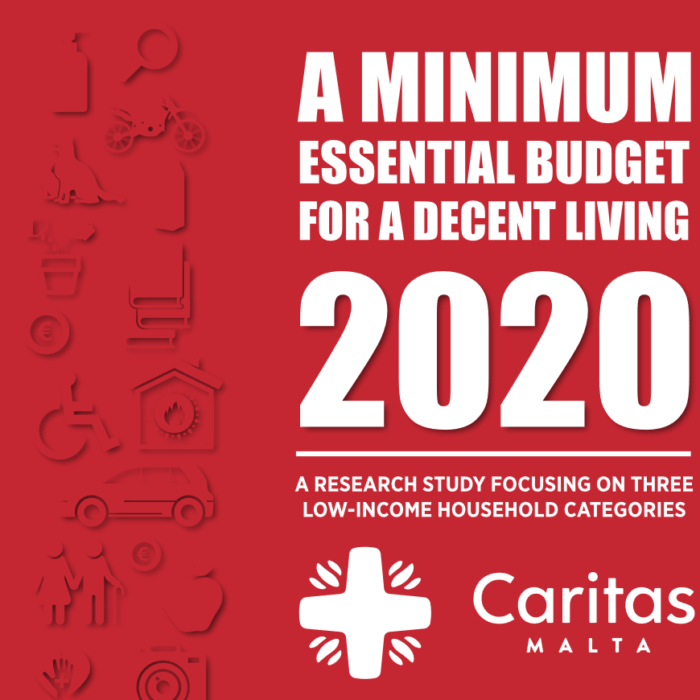 A minimum budget for a decent living