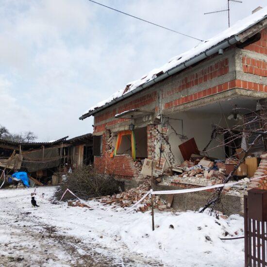 Caritas Croatia at the side of earthquake victims